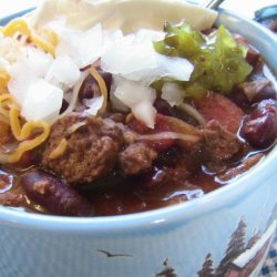 Yummy Quick & Easy Beans 'n Wieners Chili