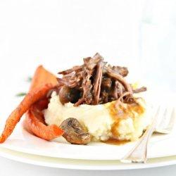 Mushroom Gravy Pot Roast
