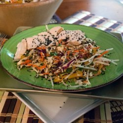 Asian Chicken & Cabbage Salad