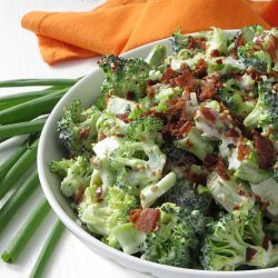 Low Carb Bacon and Broccoli  Salad