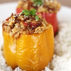 Asian Stuffed Bell Peppers