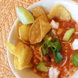 Super Easy Tortilla Soup