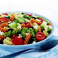 Feta and Vegetable Rotini Salad