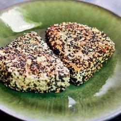 Sesame Seared Tuna W/Lime Ginger Vinaigrette