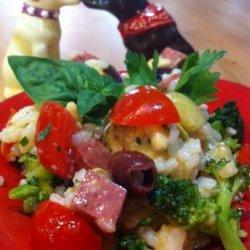 Arborio Rice Italian Salad