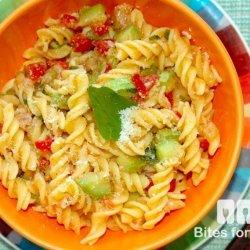 Tomato Tuna Pasta