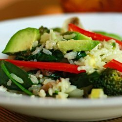 Stir-Fry Rice With Veggies