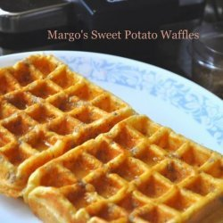 Margo's Sweet Potato Waffles