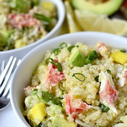 Quinoa Crab Salad