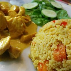 Couscous With Curried Chicken