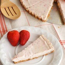 Tofu Strawberry Cheesecake