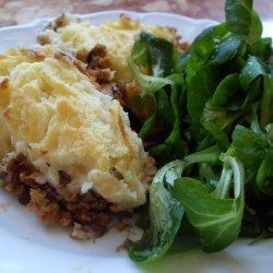 Easy Vegan Shepherd's Pie