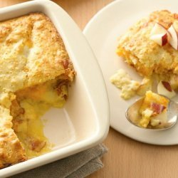 Cheesy Apple-Bacon Brunch