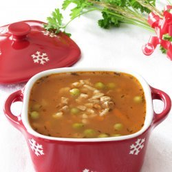 Barley Soup With Rice
