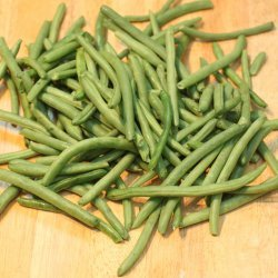 Crispy Green Beans With Wasabi Ranch Dip