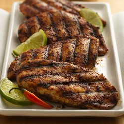 Lime and Chili Rubbed Chicken Breasts