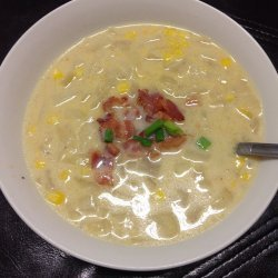 Corn Chowder With Green Onions