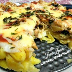 Cheesy Chicken Macaroni