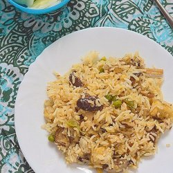 Easy Mushroom Rice