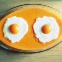 Dessert  fried Eggs
