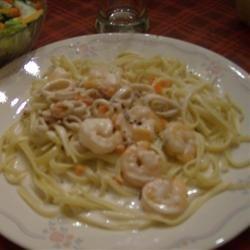Calamari in a Creamy White Wine Sauce