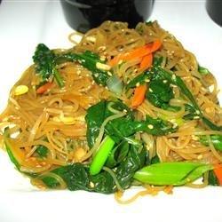 Jap Chae Korean Glass Noodles recipe