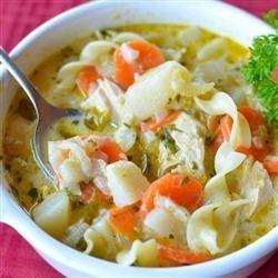 Mom Moak's Chicken Noodle Soup