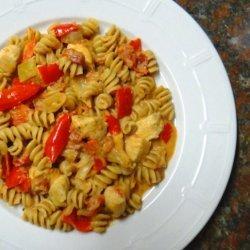 Healthy Creamy Chicken and Pasta