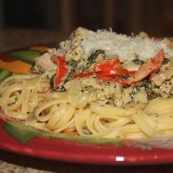 Pheasant Pesto Pasta