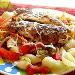 Lemon Chicken and Veggie Pasta