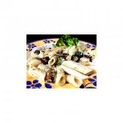 Penne Alfredo with Vegetables