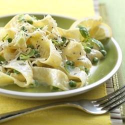 Pasta al Limone with Ricotta Cheese