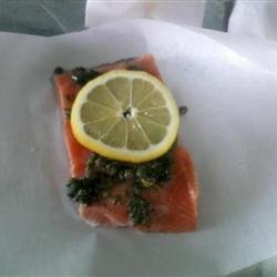 Citrus Salmon in Parchment recipe