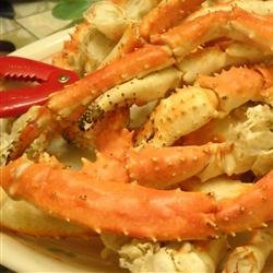 Steamed Lemon Grass Crab Legs