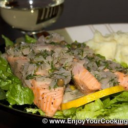 Dill Sauce for Salmon
