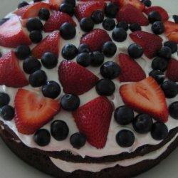 Easy Brownie Berry Shortcake