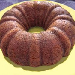 Ana Gourmet: Cinnamon Pumpkin Bundt Cake recipe