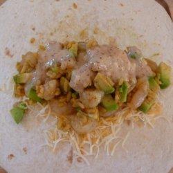 Chili-Lime Shrimp Burritos