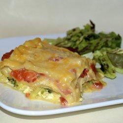 Ham & Cheese Lasagna