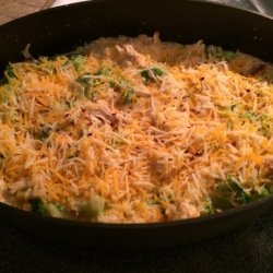 Cheesy Chicken, Broccoli & Rice Casserole - No Canned Soups!