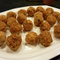 Spiced Chicken and Water-Chestnut Meatballs recipe