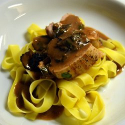 Pork With Red Wine Sauce