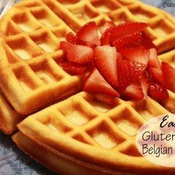 Belgian Waffles (Gluten Free)