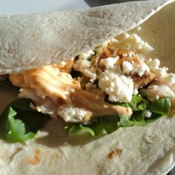 Nif's Grilled Fish Burritos