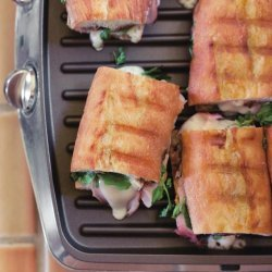 Ham and Apple Panini
