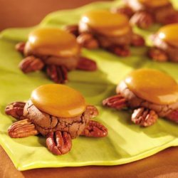 Turtle Brownie Cookies