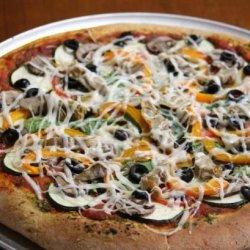 Vegan Veggie Pizza