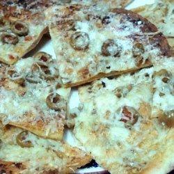 Crunchy Pesto Flats recipe