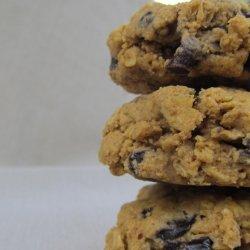 Vegan Oatmeal Spice Cookies