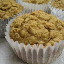 Oat Bran Apple Pie Muffins (Everything-Free, Low-Cal and Vegan!) recipe